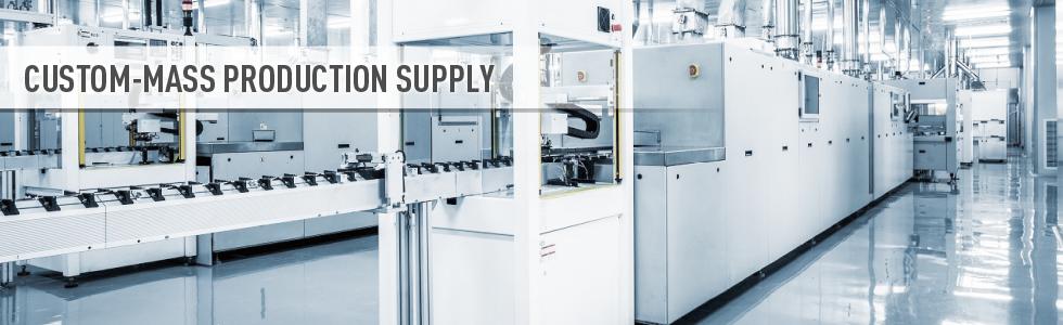Custom-Mass production supply