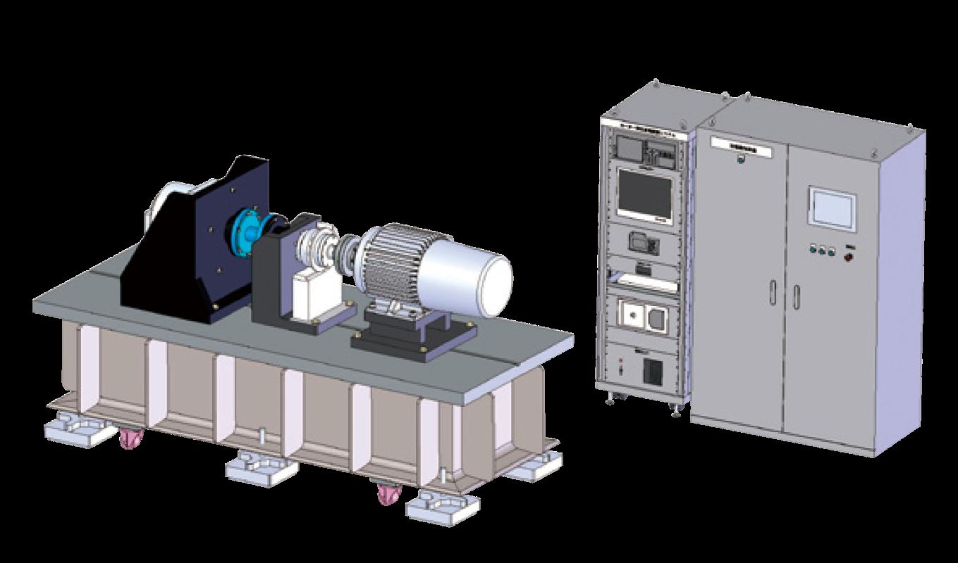 画像:モータ試験装置