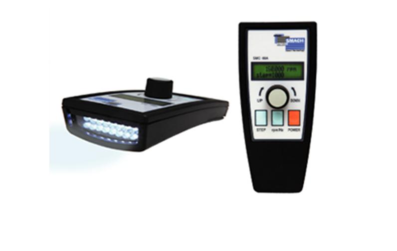 画像:小型LEDストロボスコープ
